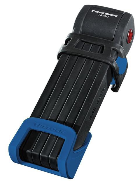 Trelock FS 300 Trigo Faltschloss inkl. Halter blau